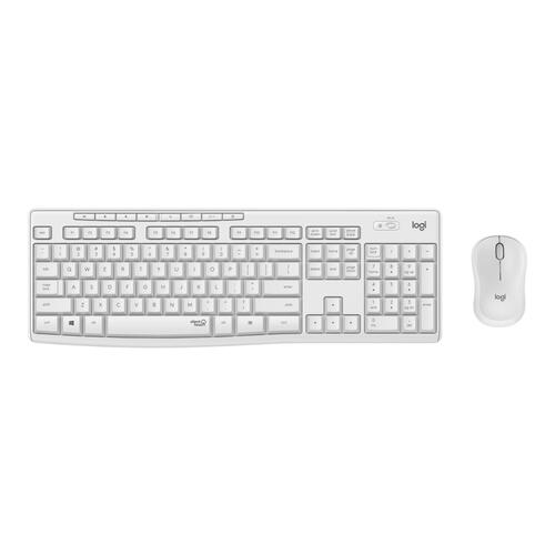 Logitech MK295 Silent Wireless Combo - OFF WHITE - US INTL - 2.4GHZ - INTNL